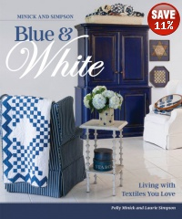Minick and Simpson Blue White