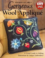 Gorgeous Wool Applique