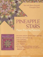 Pineapple Stars: Paper Piecing Patterns