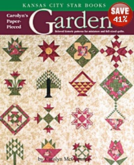 Carolyn's Paper Pieced Garden