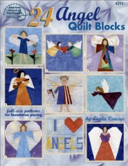 24 Angel Quilt Blocks