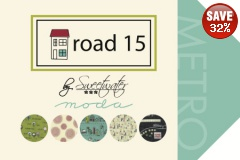 Road 15 Fat Quarters
