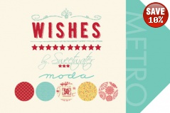 Wishes Fat Quarters