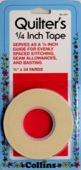 Quilters Tape 1/4in, 24yards