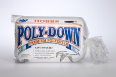 Poly-Down Polyester Crib