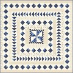 Regency Blues Kirknewton Quilt Kit