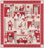 Merry Merry Snowmen Kit - Fabric and pattern